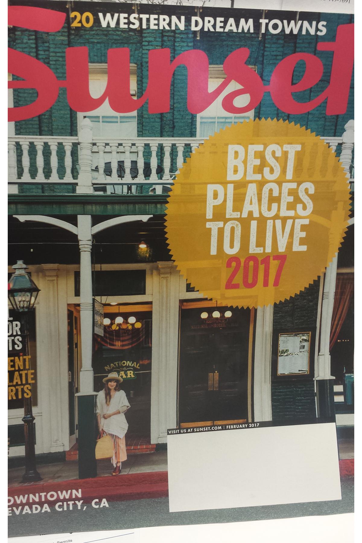 2017 Sunset Magazine Cover