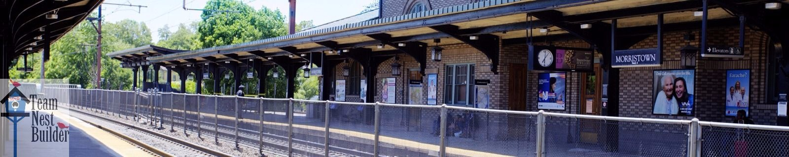 You could live just 5 minutes from the Morristown train station!