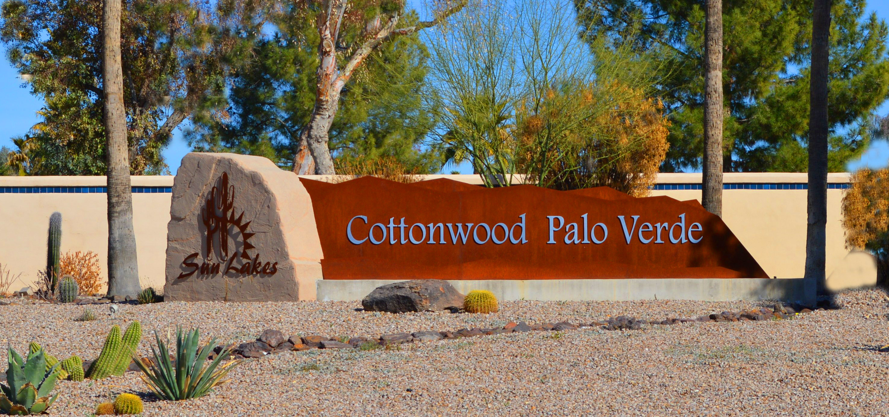 Sun Lakes Cottonwood and Palo Verde