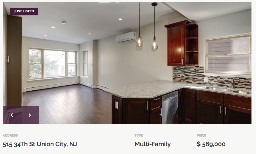union city multi fam for sale