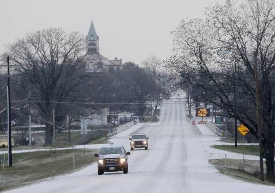 Texas Ice Storm 2015