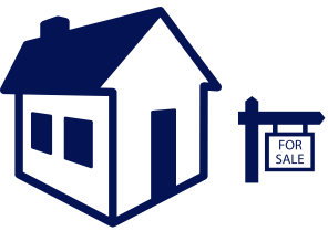 House Sale Sign Icon