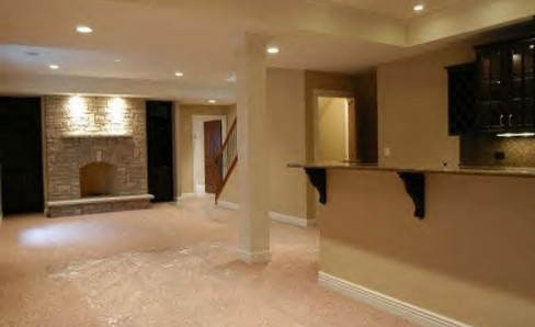 Finished Basement in Lebanon Ohio