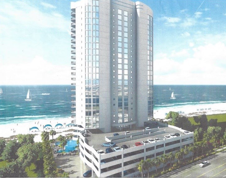 Abaco Condominiums, Gulf Shores (Rendering)