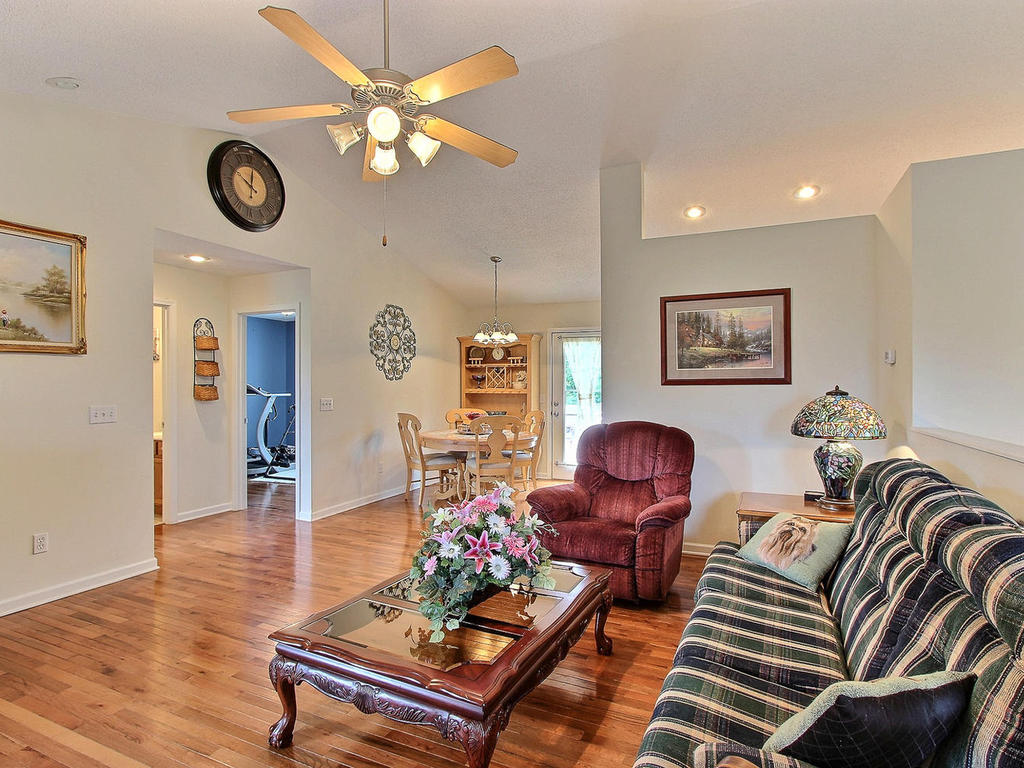 Large, open living space