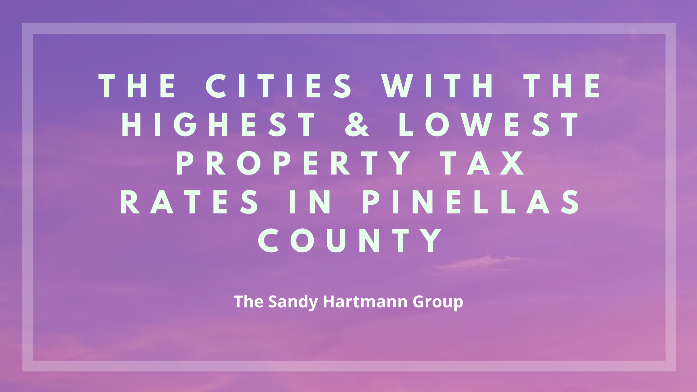Pinellas County Property Tax Rates