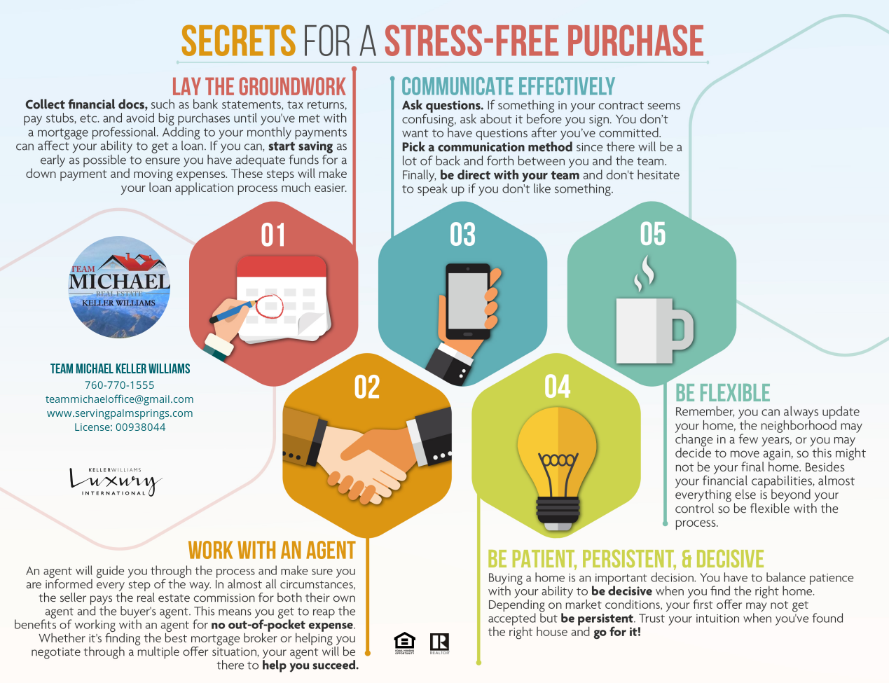 5 Secrets For A Stress Free Purchase