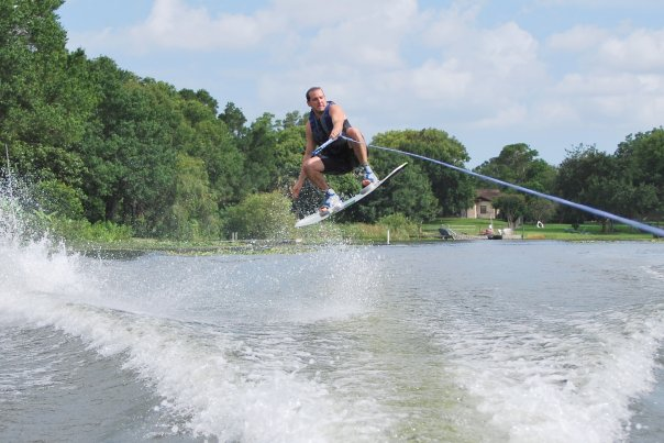 Michael Valdes Hudson FL realtor and wakeboarder