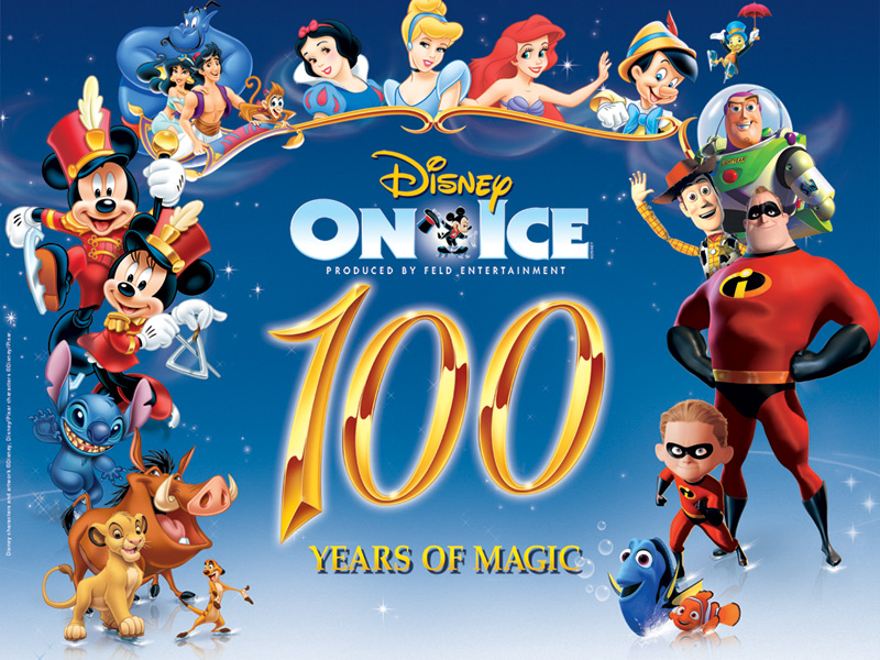 Disney on Ice promo