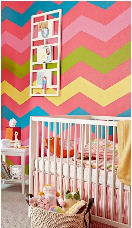 Colorful Zig Zag Stripes