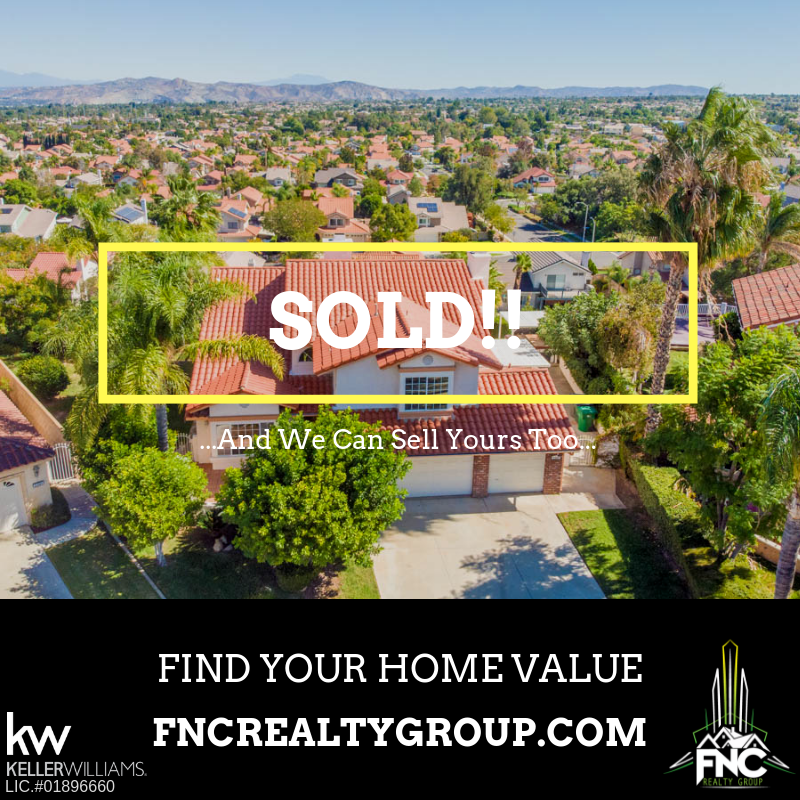 Corona Home Sold by FNC Realty Group