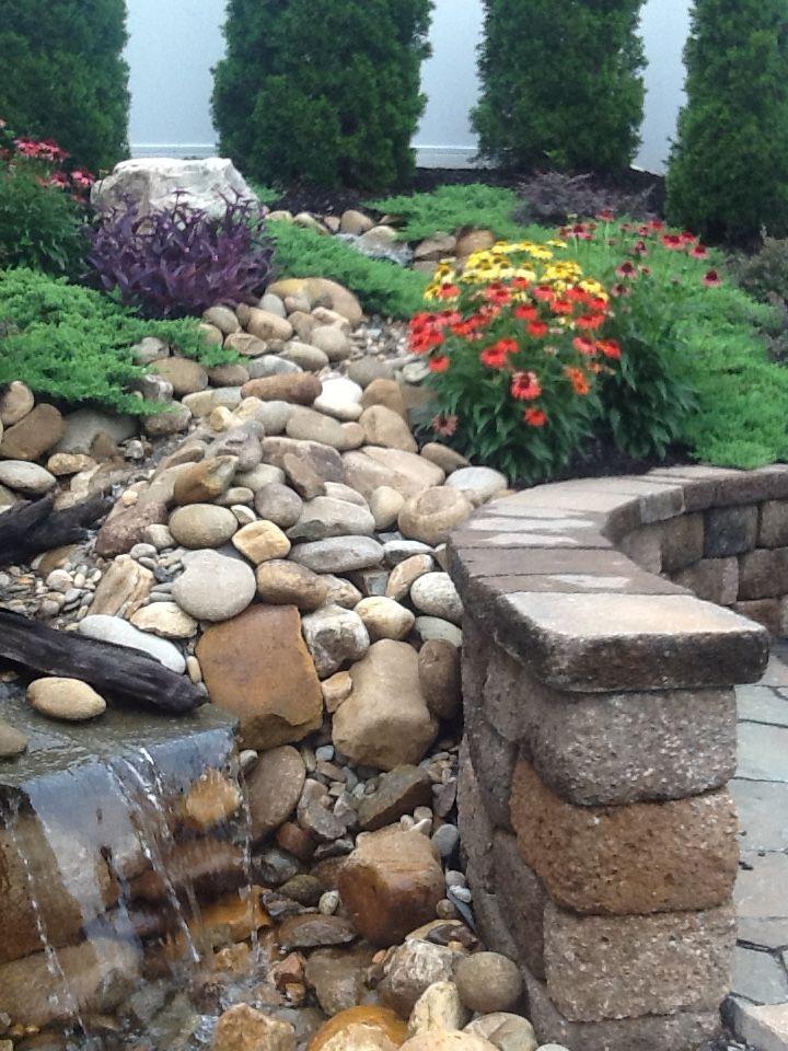 Rock Garden and Waterfalls