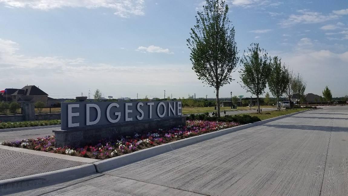 Edgestone Subdivision Frisco Texas