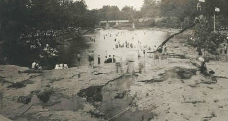 Falls Park Swimming Pool