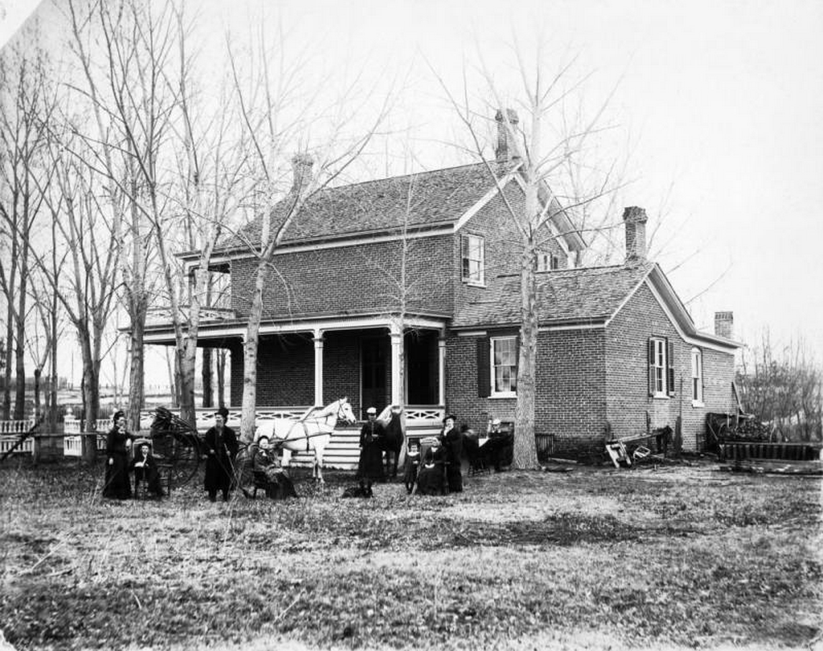Home of Mr. Addison Nathan Baker on Grand Avenue (West Colfax Avenue) in Denver, Colorado.