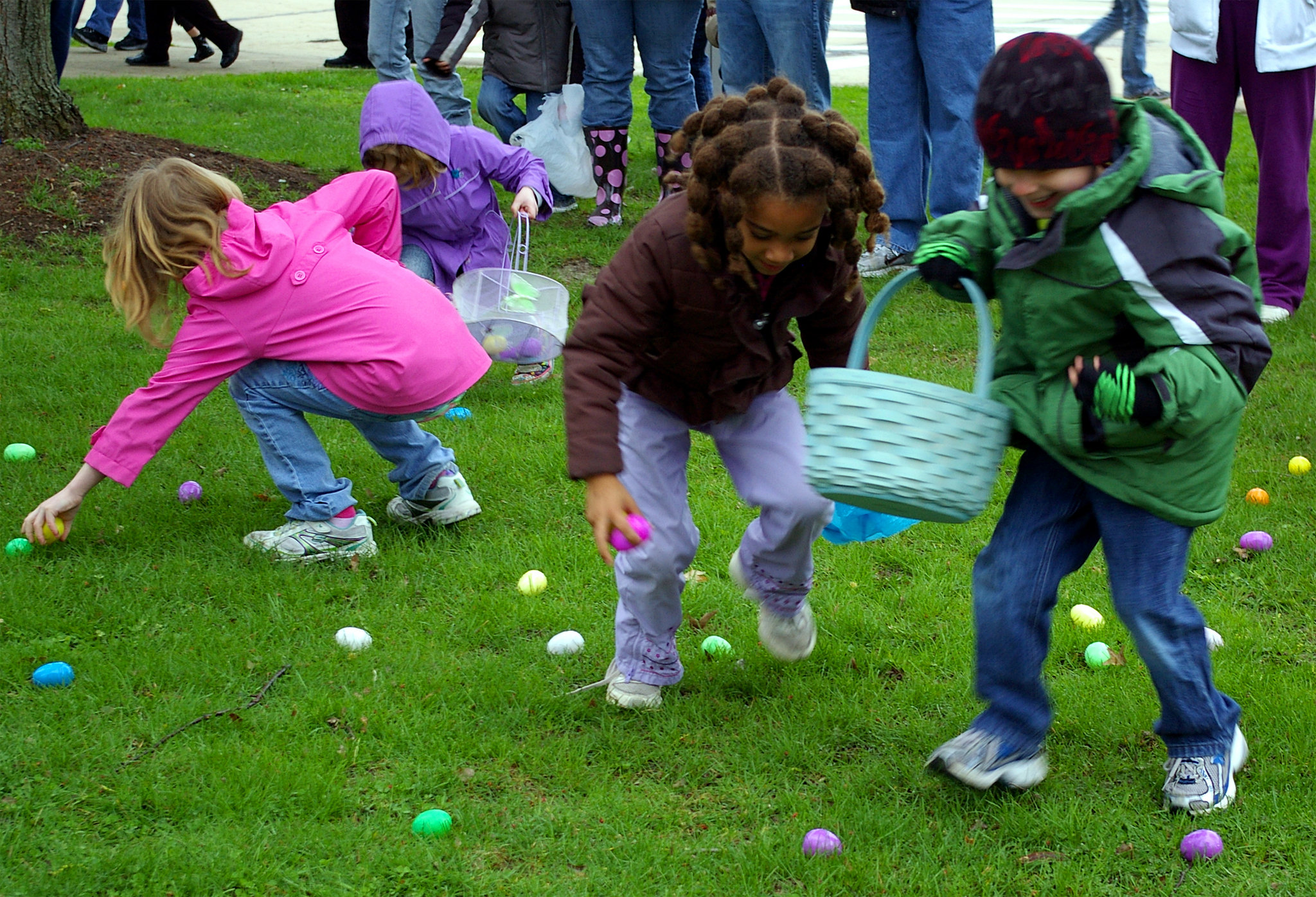 Image result for franklin square easter egg hunt