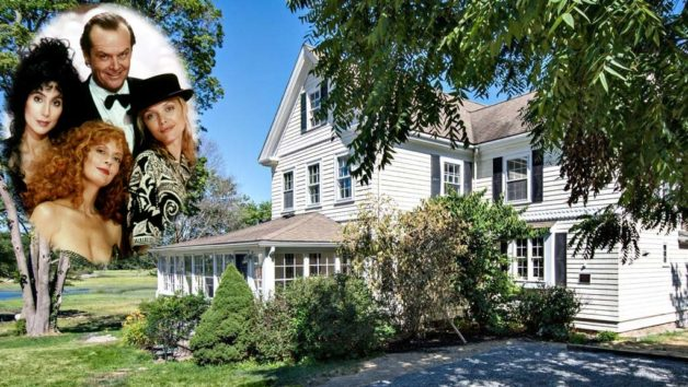 Image titleMovie Magic in Massachusetts: 'Witches of Eastwick' House for Sale