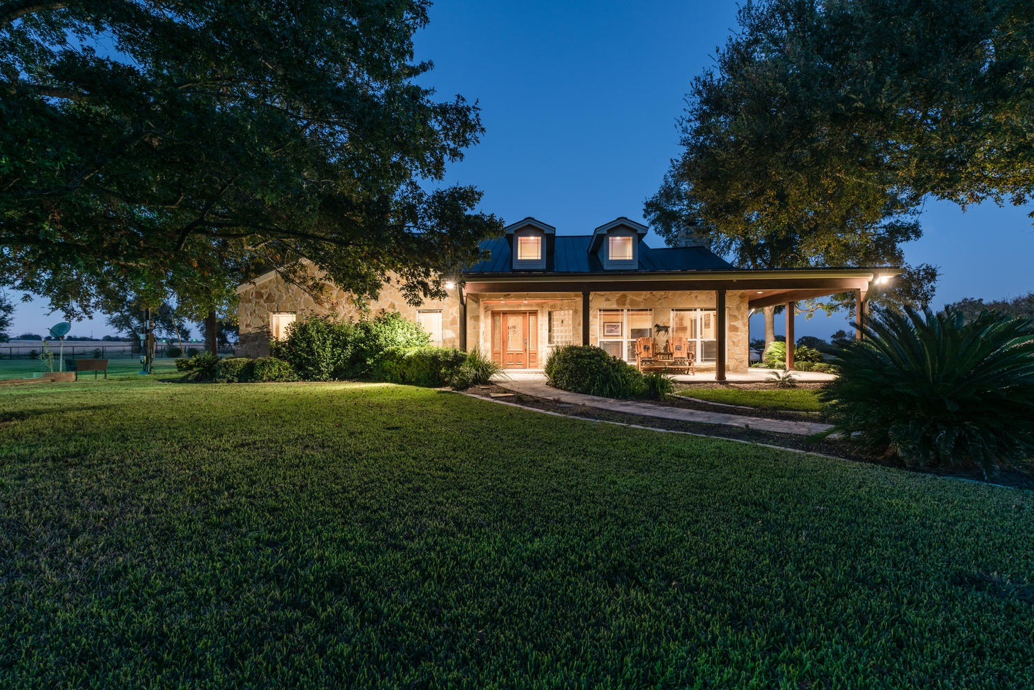 The Texas Ranch Style House